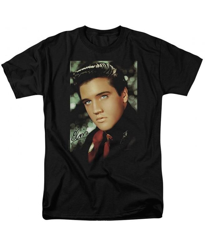 Elvis Presley Scarf Smile T Shirt