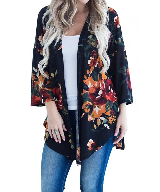 Hibluco Fashion Printed Cardigan Outwear