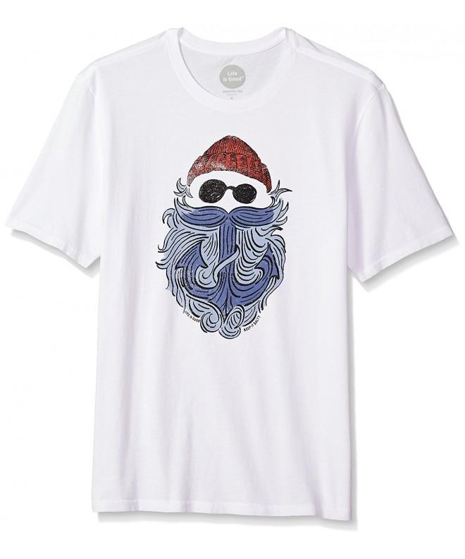 Life Smooth Anchor Cldwht T Shirt