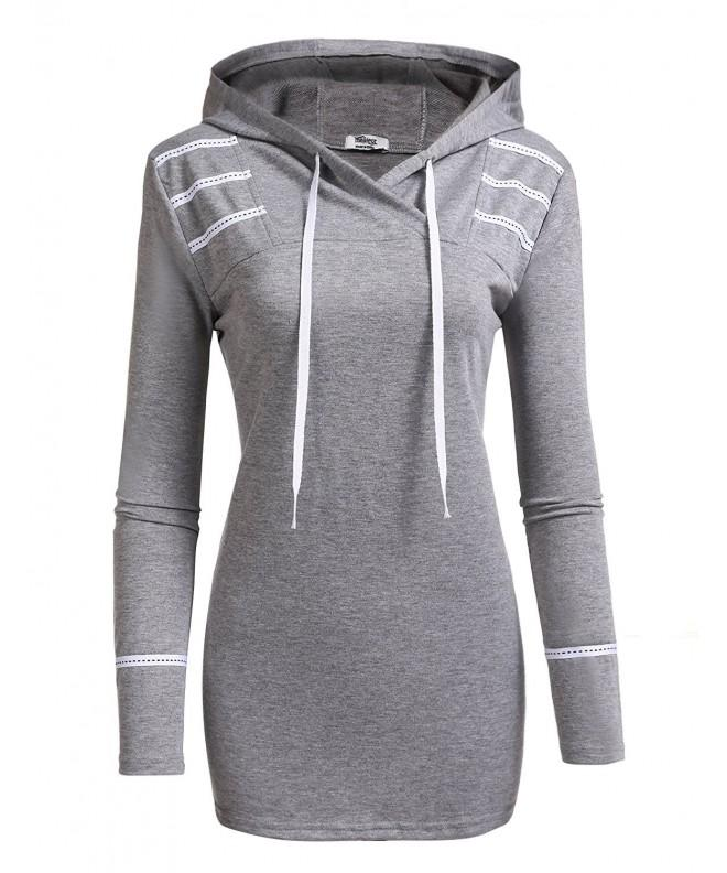 Zeagoo womens hooded pullover sweater