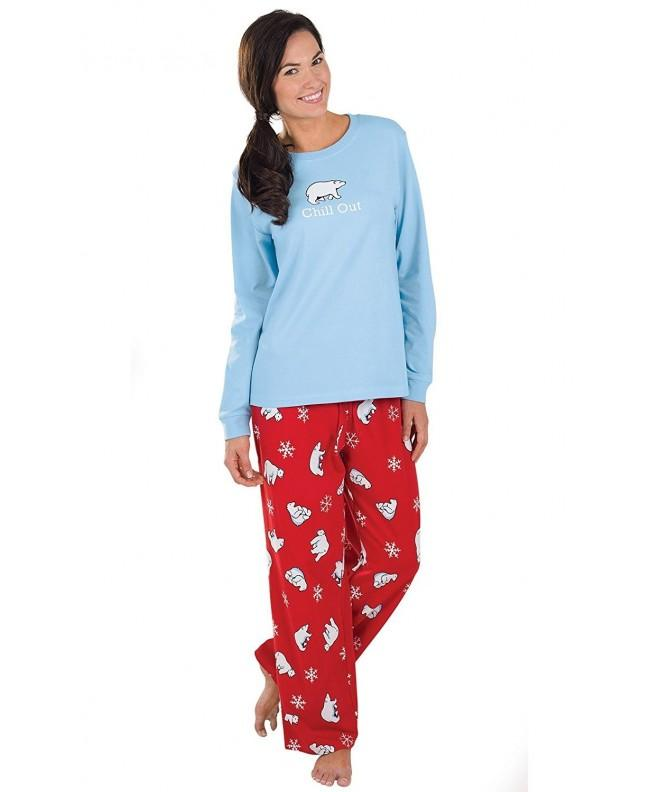 PajamaGram Chill Cotton Womens Pajamas