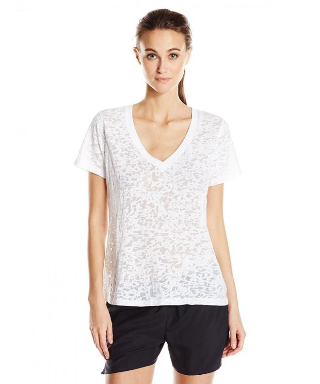 nuyu Womens Florida University V Neck Burnout