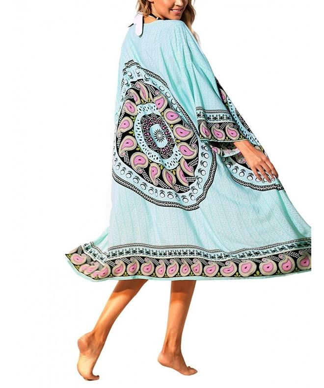 ACKKIA Womens Bathing Mandala Cardigan