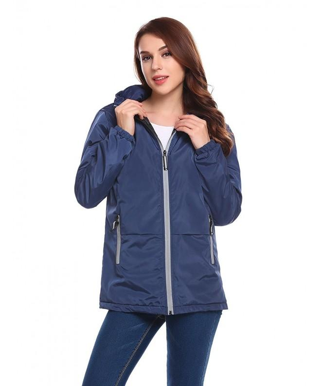 Elever Womens Padded Sleeve Jacket