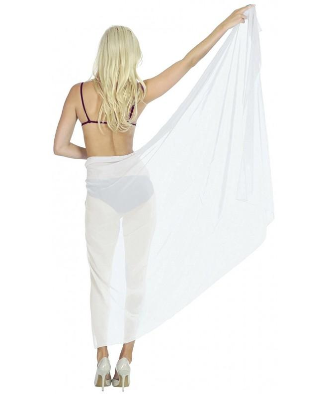 Bathing Sarong Swimsuit Womens Chiffon