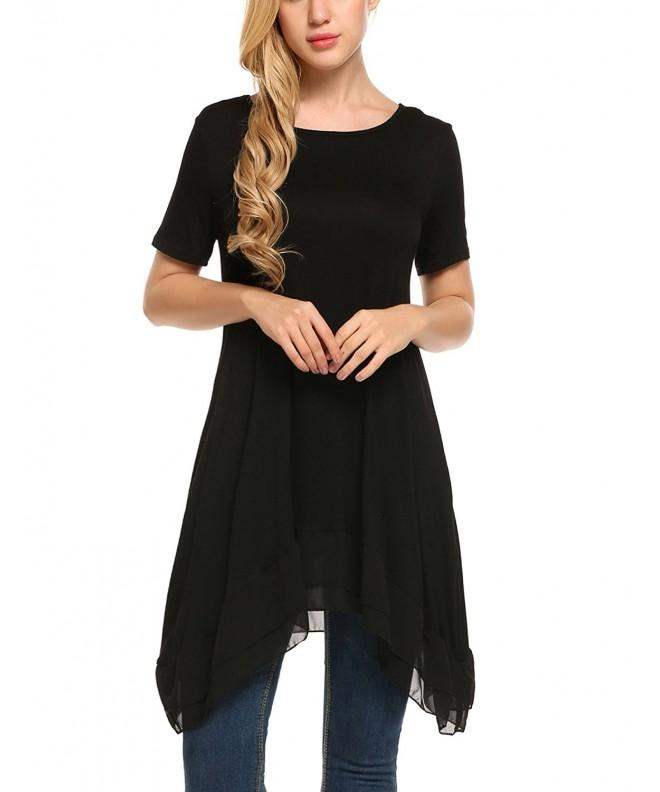 Beyove Chiffon Layered Casual Simple