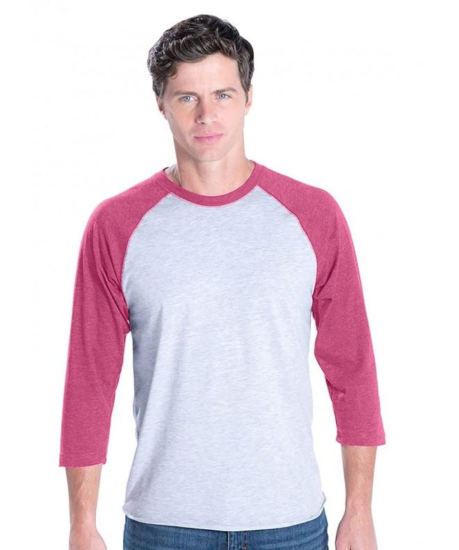 LAT Cotton Baseball T Shirt Heather