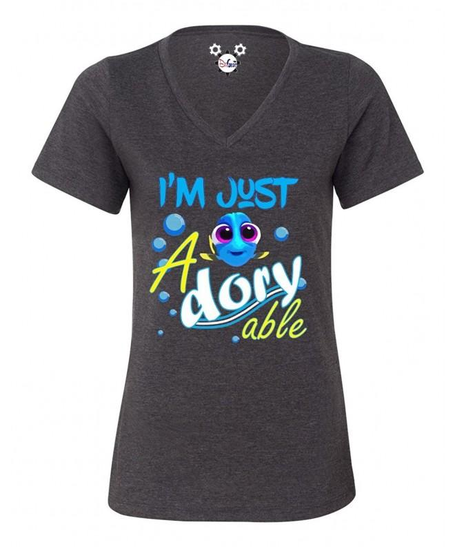 DisGear Dory Able Ladies T Shirt Heather