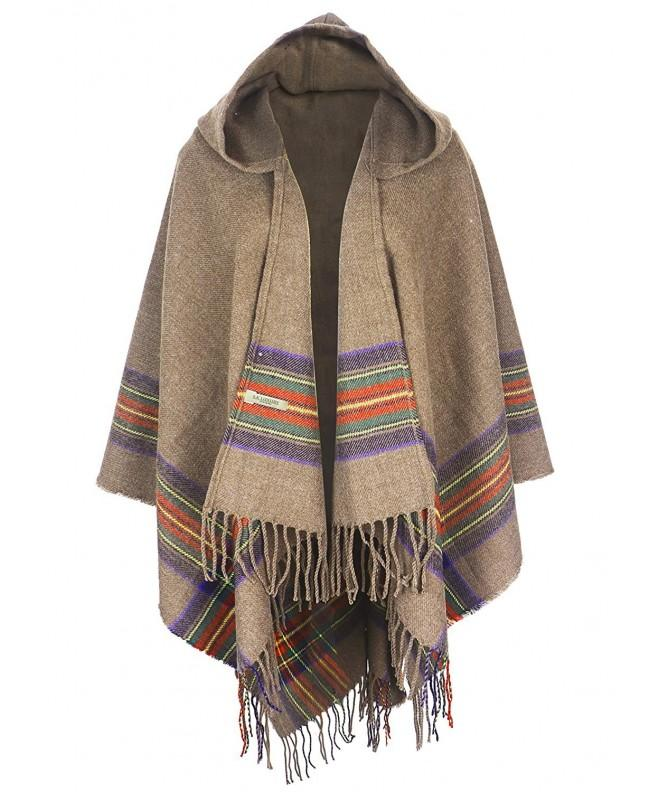 S K Womens Blanket Cardigans Hooded 604