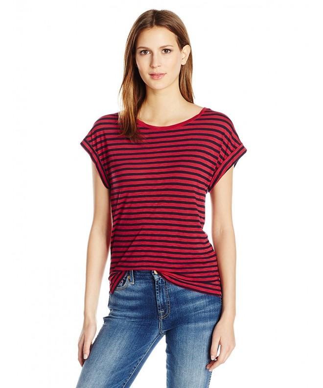 Splendid Womens French Stripe Beet