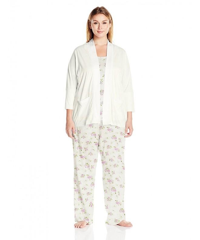 Carole Hochman Womens Pajama Blossom