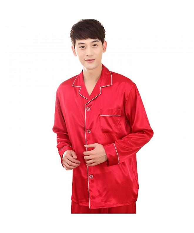 ZUEVI Classic Propitious Pajamas Red XL S