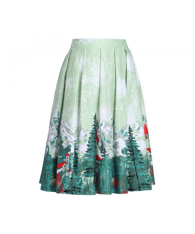 Taiduosheng Holiday Christmas Pleated Vintage