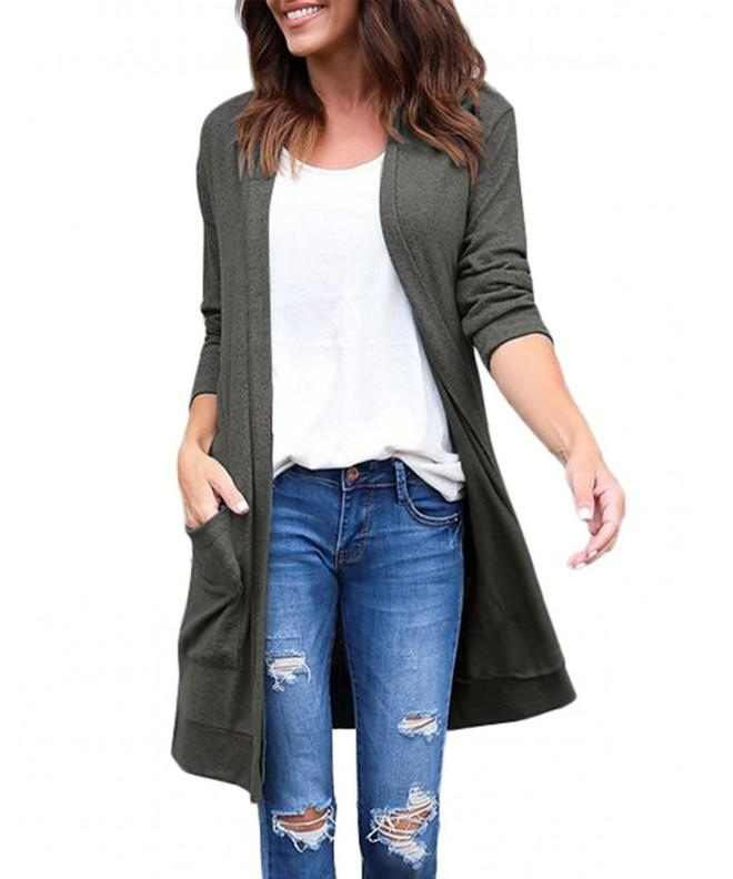 PARTY LADY Womens Cardigan Sweater