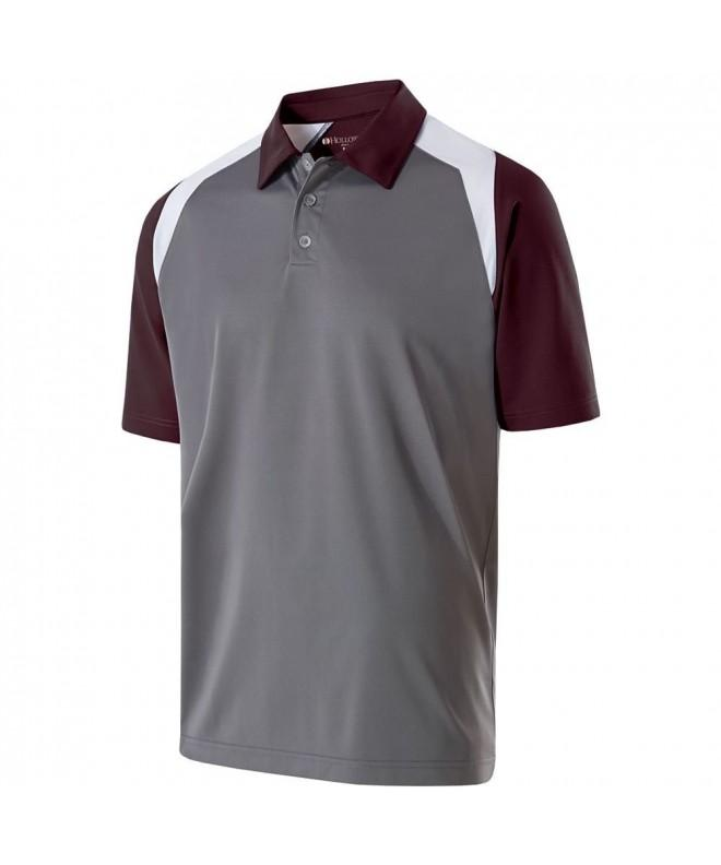 Holloway Sportswear SHIELD Graphite Maroon