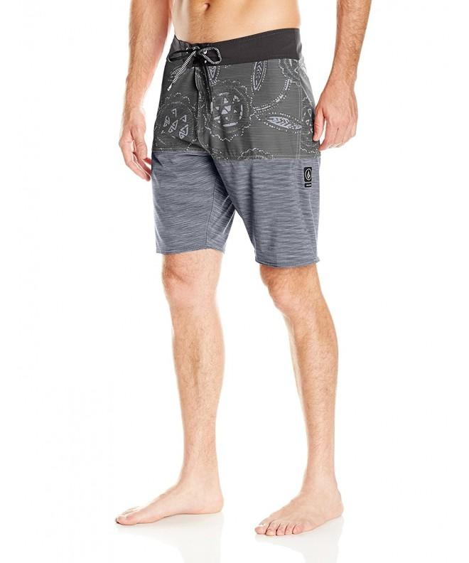 Volcom Mens Combo Boardshort Black