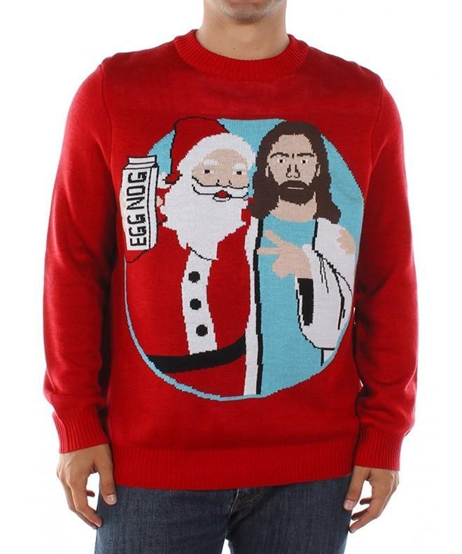 Tipsy Elves Santa Christmas Sweater