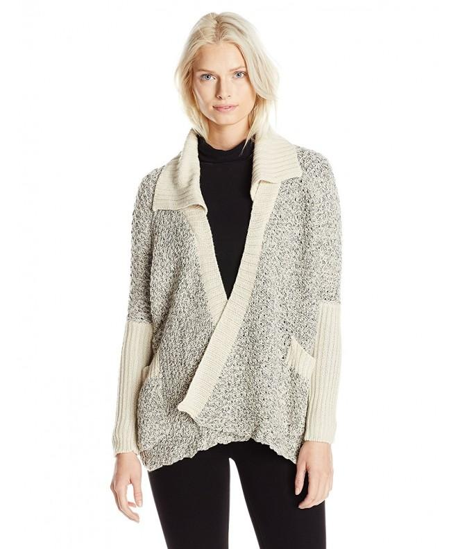 RD Style Textured Cardigan Sweater