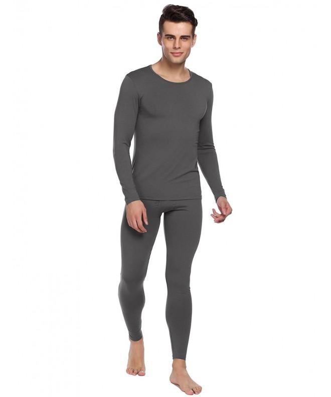 Ekouaer Thermal Underwear Cotton Blend