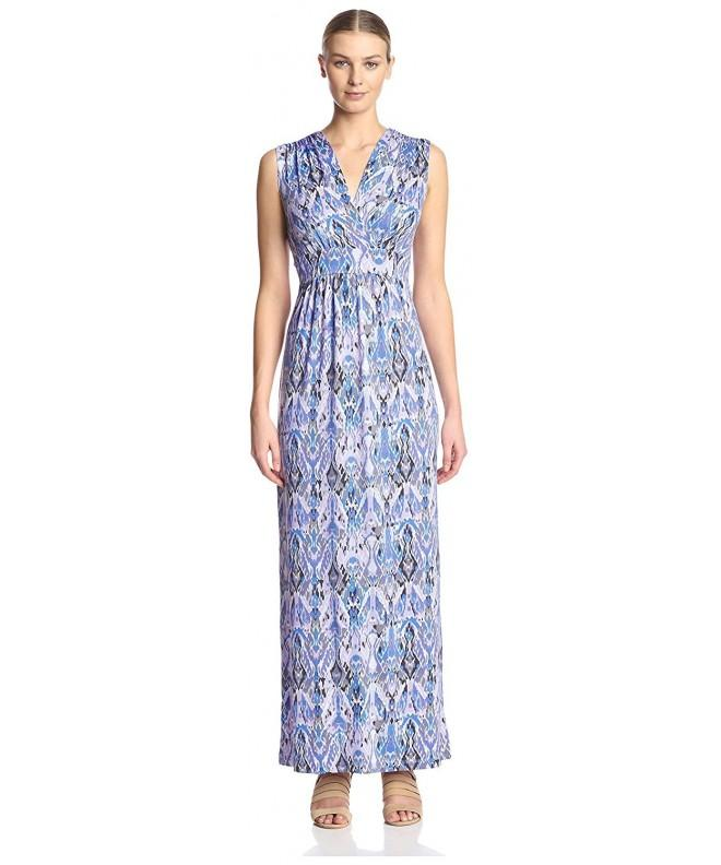 James Erin Womens Dress Periwinkle