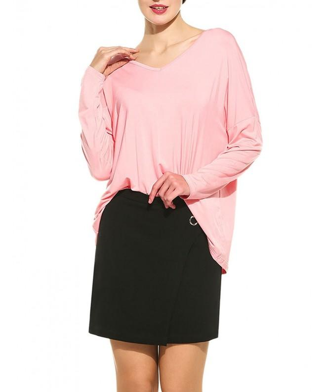 Zeagoo Womens Batwing Sleeve Pullover