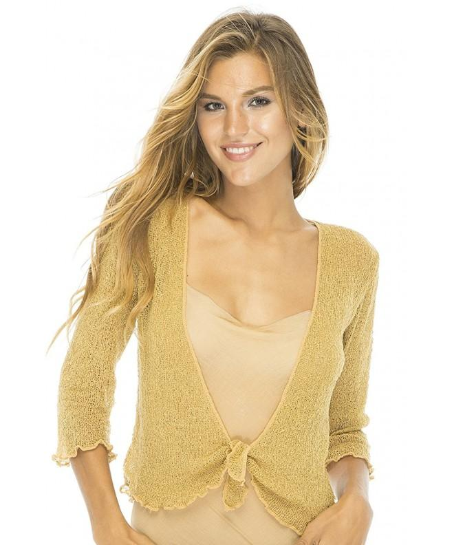 Back Bali Lightweight Cardigan Natural
