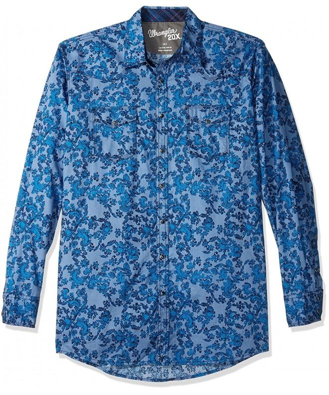 Wrangler Sleeve Pocket Shirt Chambray