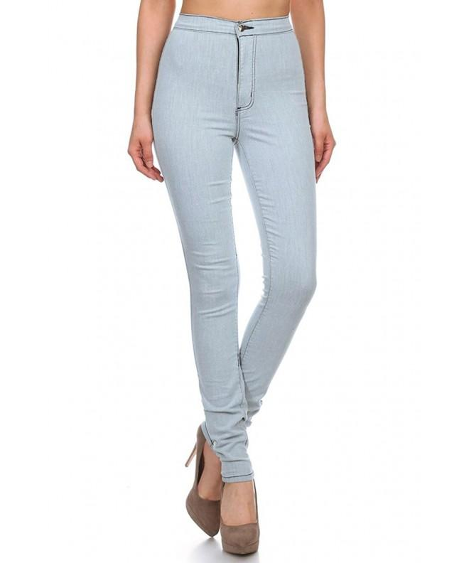 Aphrodite Womens Skinny Pocket BLUE 13