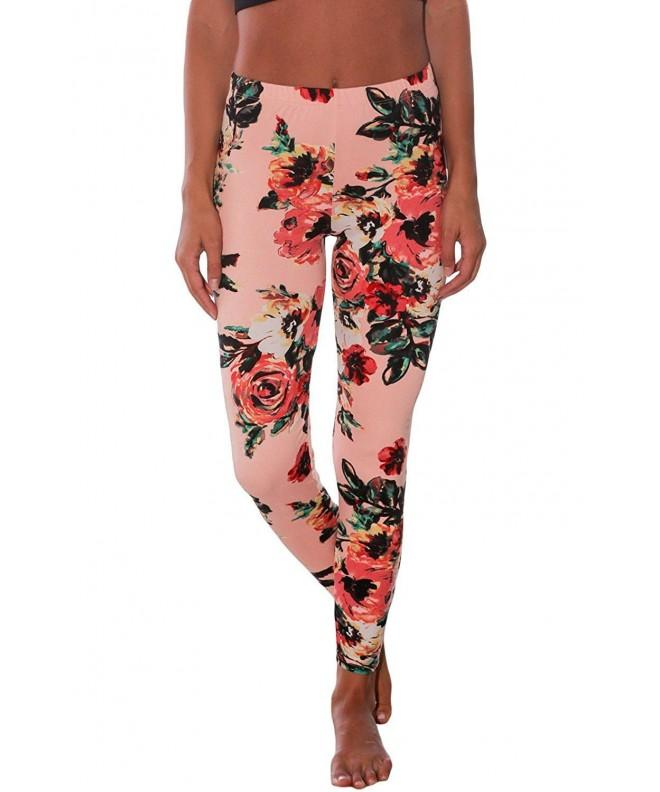 Nicetage Full Length Printed Microfiber Legging