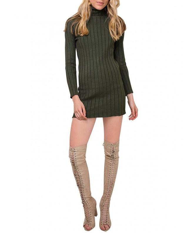 Glamaker Turtleneck Pullover Sweater Sleeves