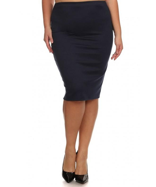Womens Length Pencil Skirt X Large