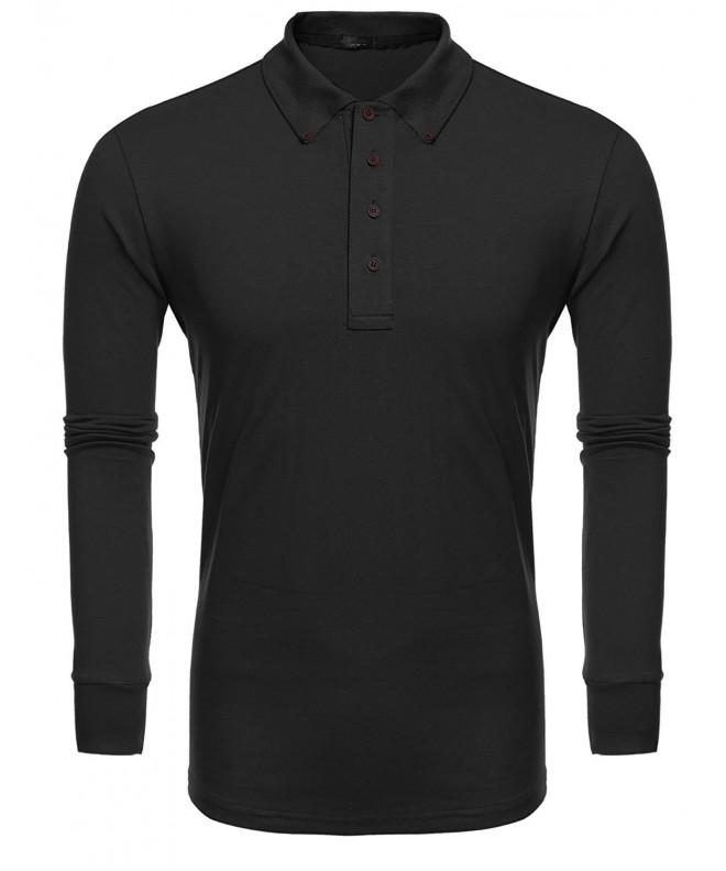 Jinidu Sleeve Casual Shirts Black
