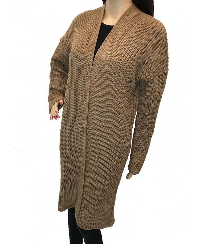 Ioana Cardigan Sweater Yarns Camel