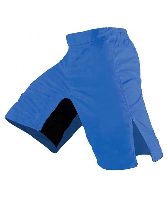 Blank MMA Shorts Royal Blue