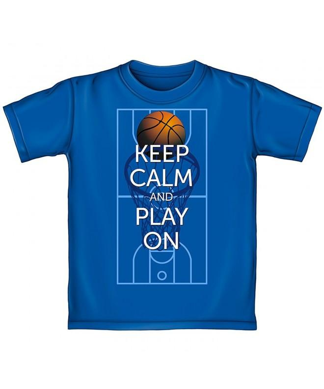 Keep Basketball Adult Shirt Medium