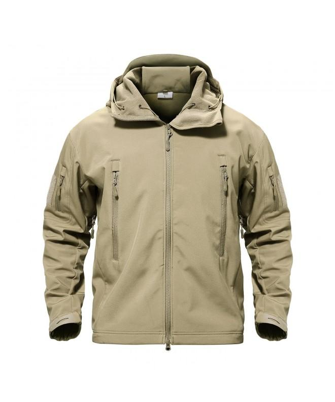 TACVASEN Resistant Softshell Tactical Outerwear