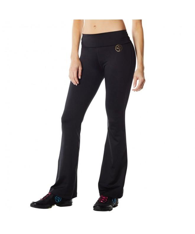 Zumba Womens Bootcut Leggings X Large