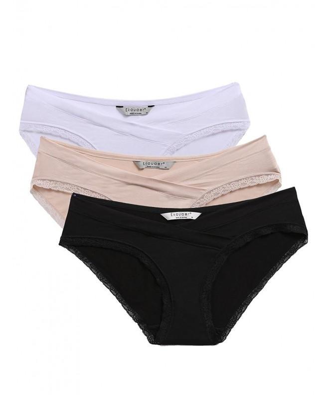 Ekouaer Pregnant Underwear Panties Multicoloured