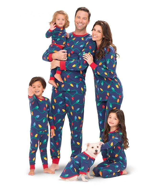 PajamaGram Christmas Lights Matching Family
