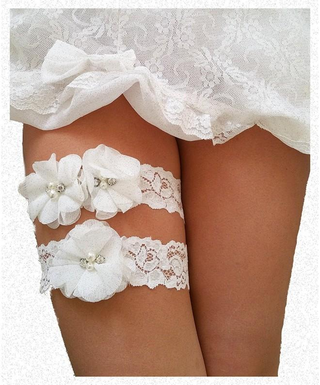Wedding Keepsake Garters Vintage Bridal
