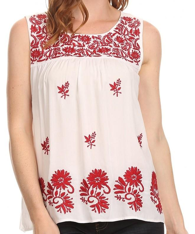 Sakkas 812 Devika Sleeveless Embroidery