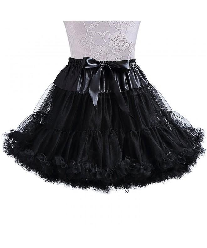 XinChangShangMao Womens Chiffon Petticoat Skirt
