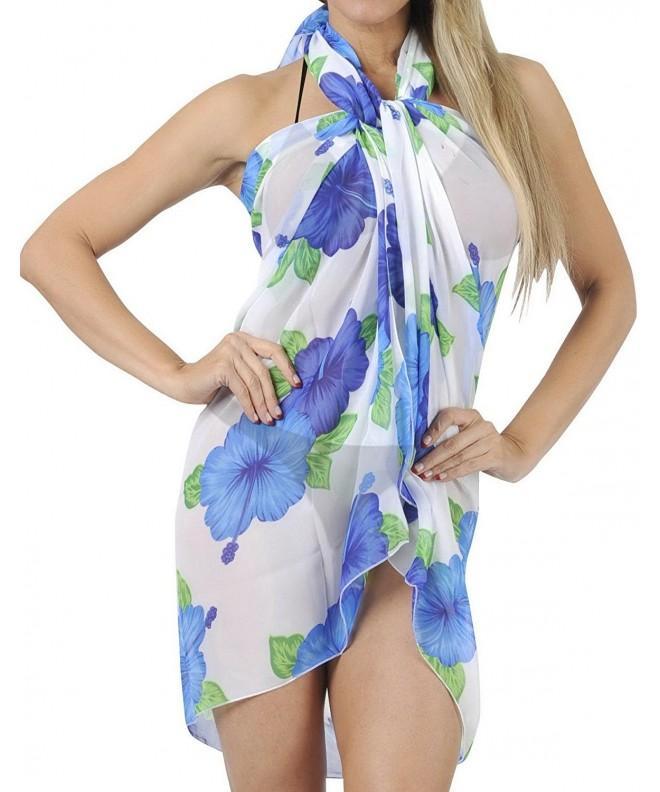 LIGHTWEIGHT CHIFFON Aquatic Hawaiian Swimwear