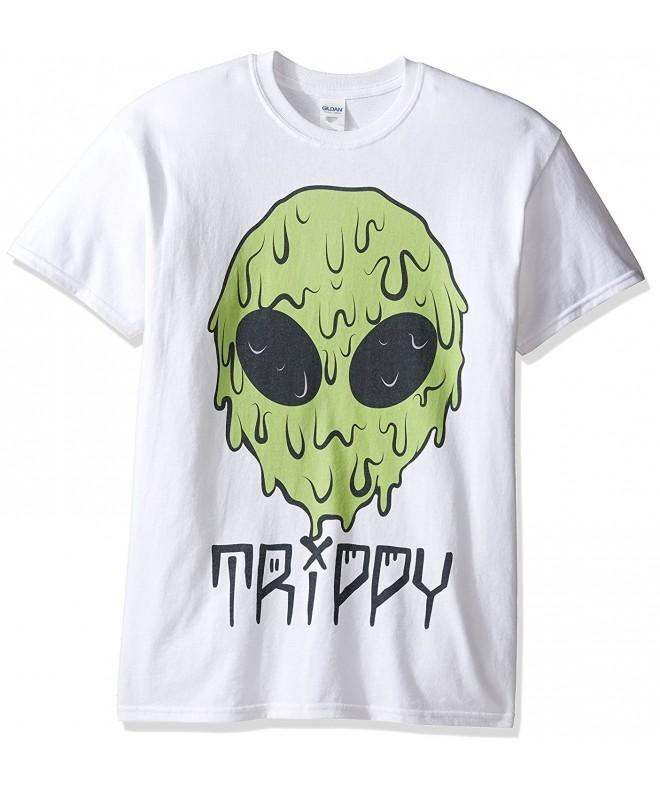 Freeze Trippy Alien T Shirt White
