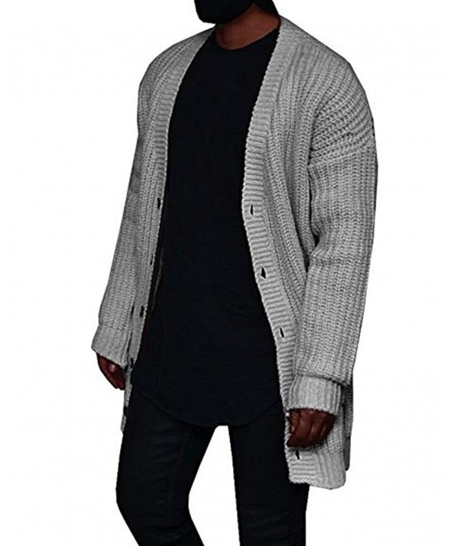 Cardigan Sweater Closure Pockets Enjoybuy