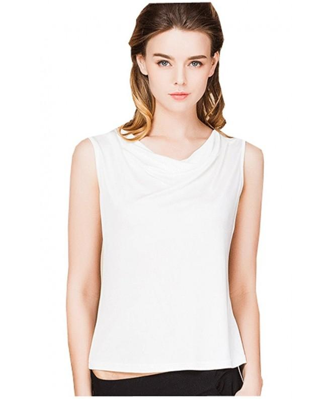 METWAY Womens Comfy Sleeveless X Lager