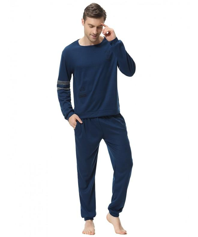 Aibrou Pajama Cotton Long Sleeve Fleece