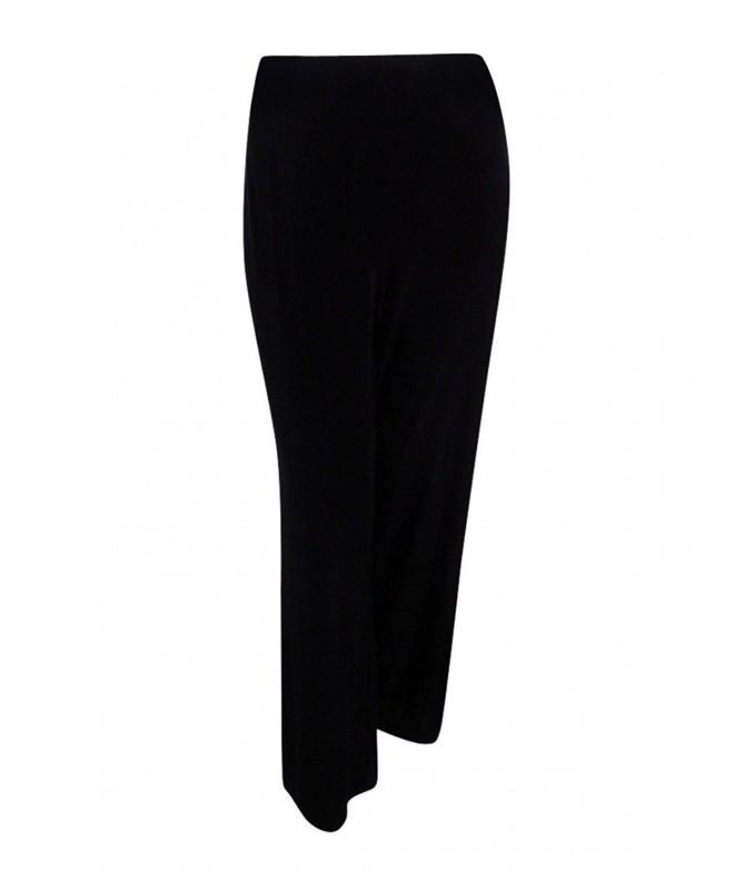 Alfani Womens Velvet Pants Black