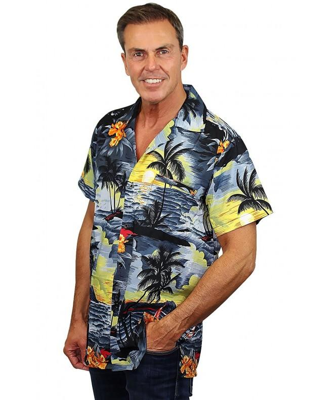 Funky Hawaiian Shirt Surf gray