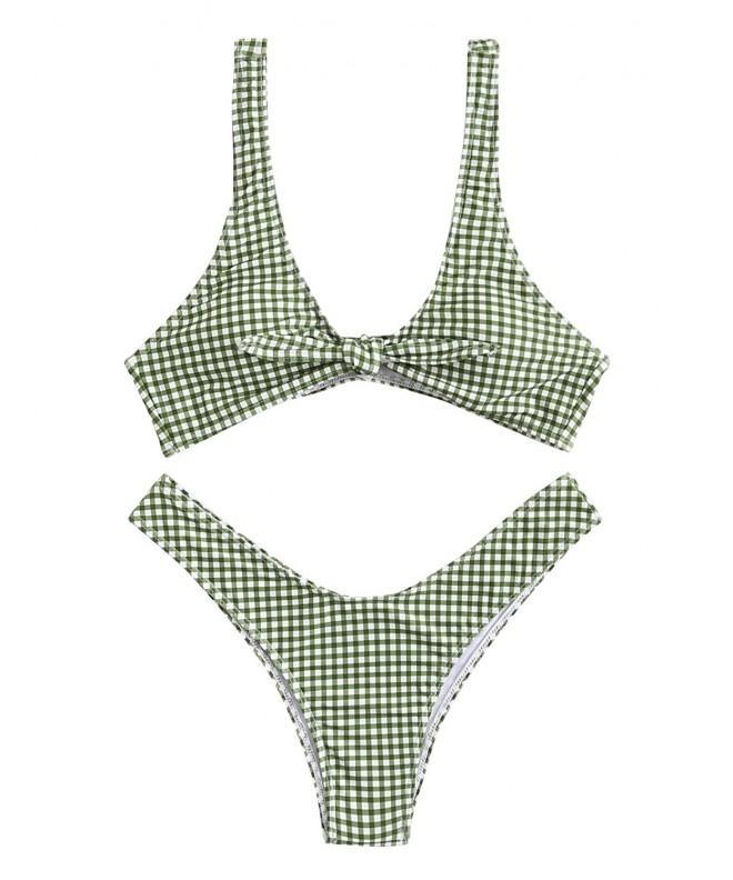 SweatyRocks Womens Bikini Swimsuit Swimwear